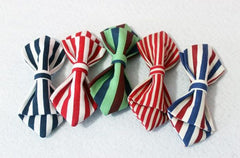 Red Striped Kids Bow Tie - Bowties - 3