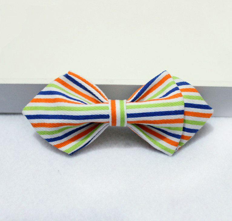 Striped MultiColored Boys Bow Tie - Bowties - 1
