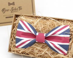 UK Flag Bow Tie