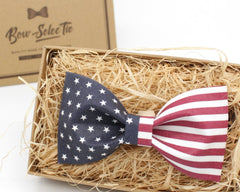 USA Flag Bow Tie