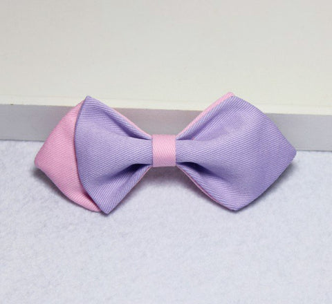 Violet & Pink Kids Bow Tie - Bowties - 1