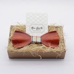 Warm Fishtail Wooden Bow Tie - Bowties - 2