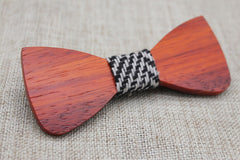 Warm Oak Wooden Bow Tie - Bowties - 4