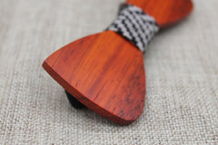 Warm Oak Wooden Bow Tie - Bowties - 3