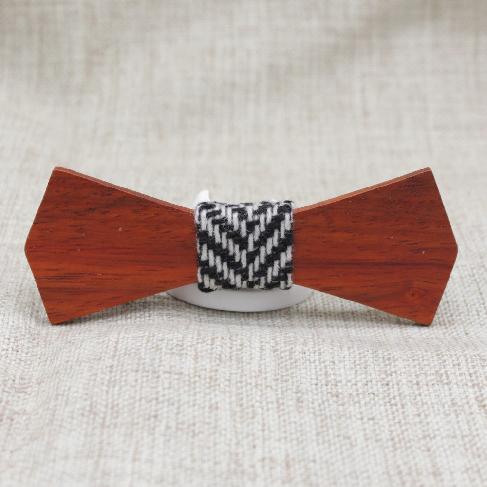 Warm Slim Fit Wooden Bow Tie - Bowties - 1
