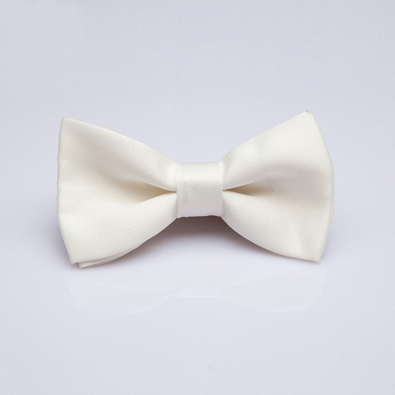 White Formal Kids Bow Tie - Bowties - 1
