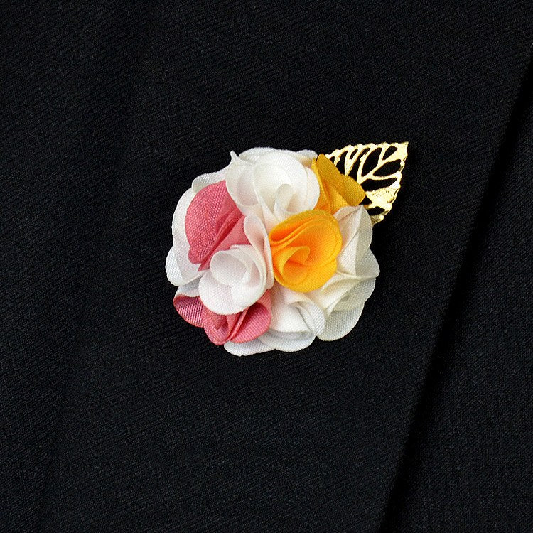 White Lapel Flower - Bowties - 1