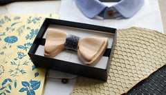 Black Woody Bow Tie - Bowties - 2