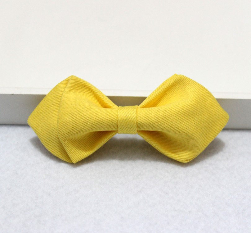 Yellow Kids Bow Tie - Bowties - 1
