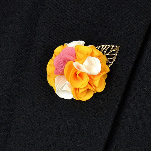 Yellow Lapel Flower - Bowties - 1