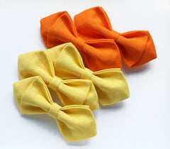 Bright Orange Boys Bow Tie - Bowties - 2