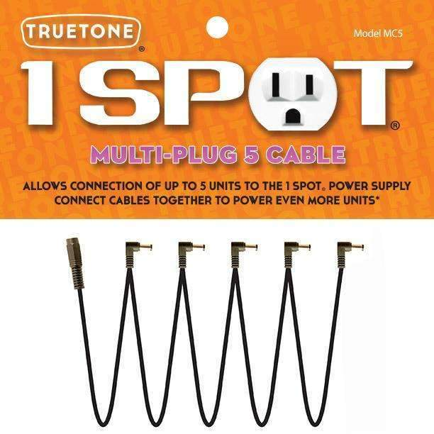 Industrie Music,Truetone 1 SPOT Multi Plug 5 Cable
