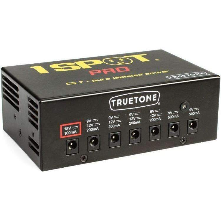 Industrie Music,Truetone 1 SPOT PRO CS7 with 7 Isolated Outputs Power supply