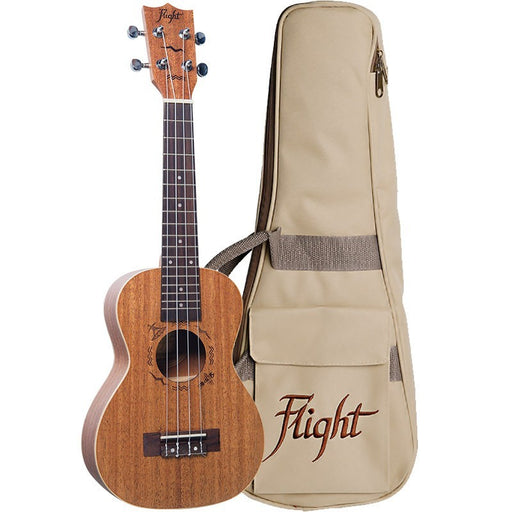 Flight DUC323 Concert Ukulele Mahogany with Bag