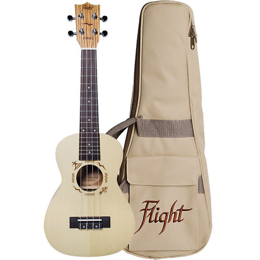 Flight DUC325 Concert Ukulele with Bag