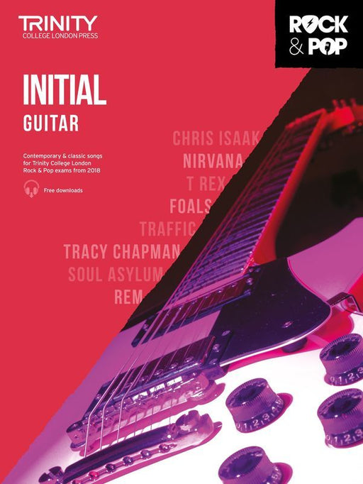 Trinity Rock & Pop Guitar - Initial from 2018