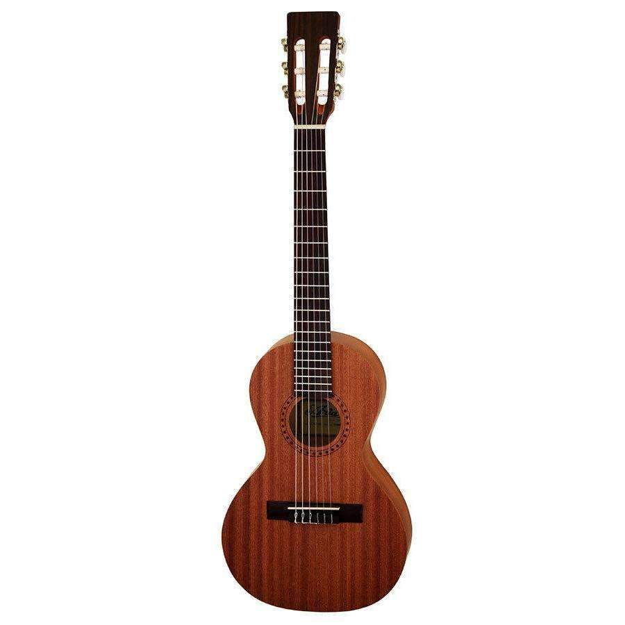 Industrie Music,Aria ASA Series Nylon String Travel Guitar In Natural Satin