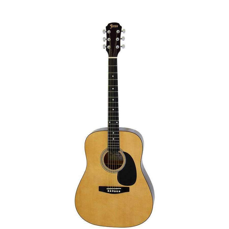 Aria Fiesta Series 3/4 Size Dreadnought Acoustic Guitar in Natural