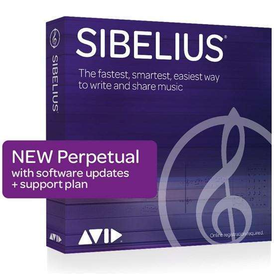 Industrie Music,Avid 1-Year Software Updates + Support RENEWAL for Sibelius | Perpetual License