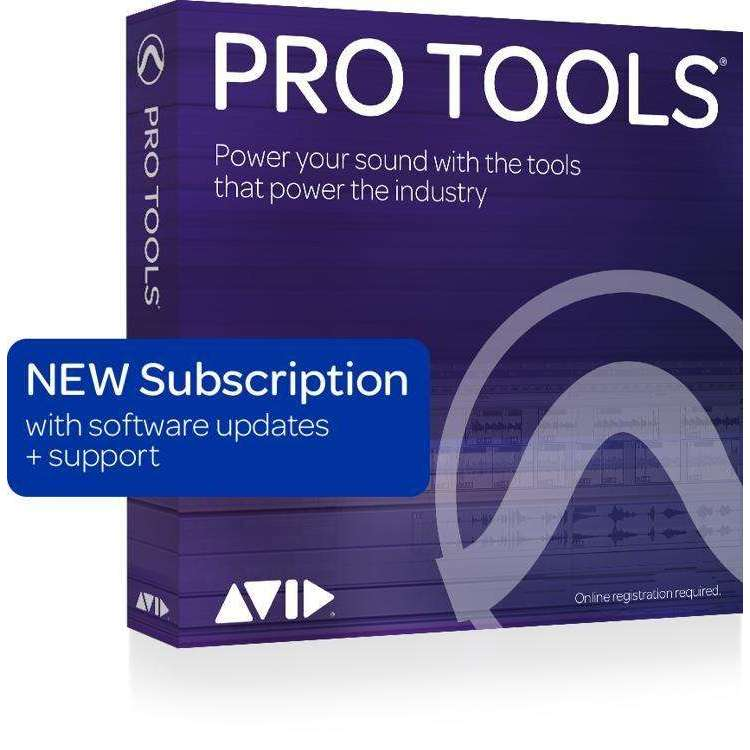 Industrie Music,Avid Pro Tools 2018 with 1-Year of Updates + Support Plan 1-Year Subscription (download)