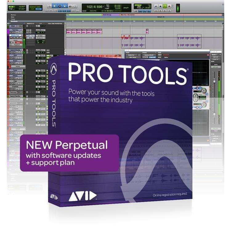 Industrie Music,Avid Pro Tools 2018 with 1-Year of Updates + Support Plan Perpetual License (download)