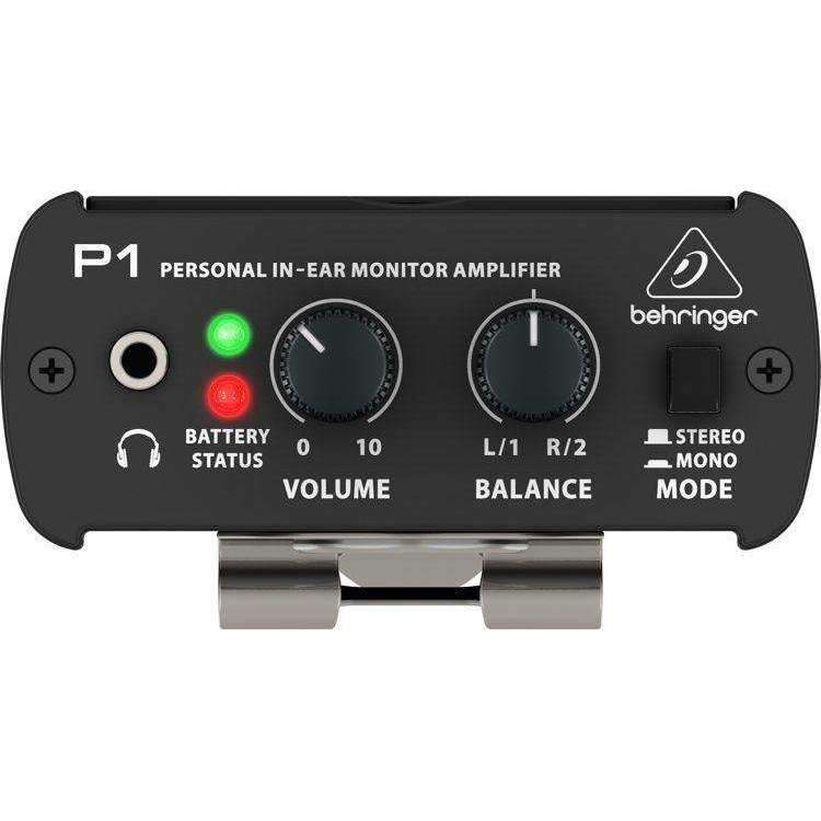 Behringer Behringer Powerplay P1 Personal In-ear Monitor Amplifier - Industrie Music