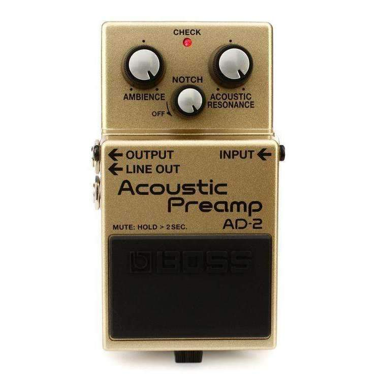 Industrie Music,Boss AD-2 Acoustic Preamp Pedal