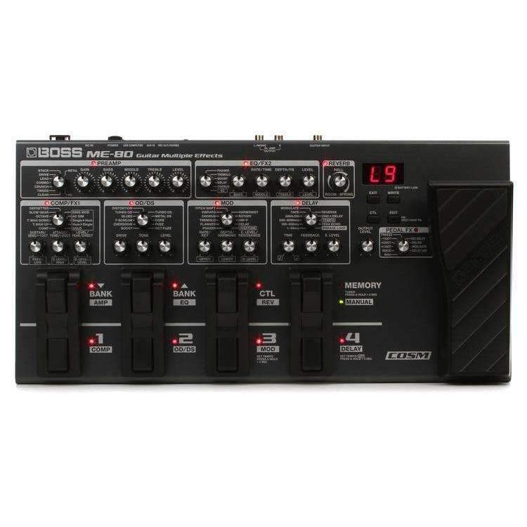 Boss Boss ME-80 Multi-effects Pedal - Industrie Music