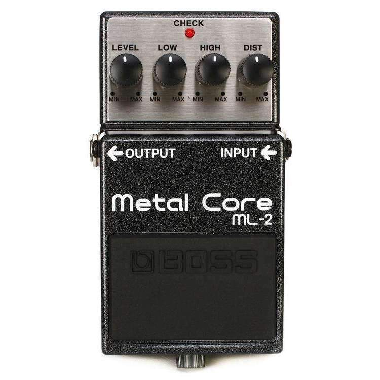 Industrie Music,Boss ML-2 Metal Core Distortion Pedal