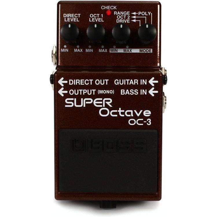Industrie Music,Boss OC-3 Dual Super Octave Pedal