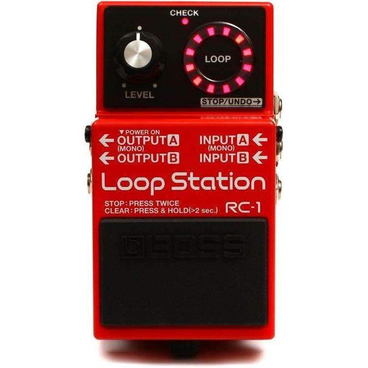 Boss Boss RC-1 Loop Station Looper Pedal - Industrie Music