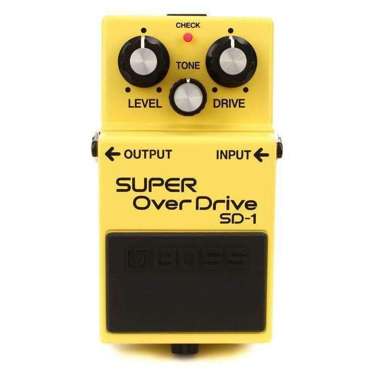 Industrie Music,Boss SD-1 Super Overdrive Pedal