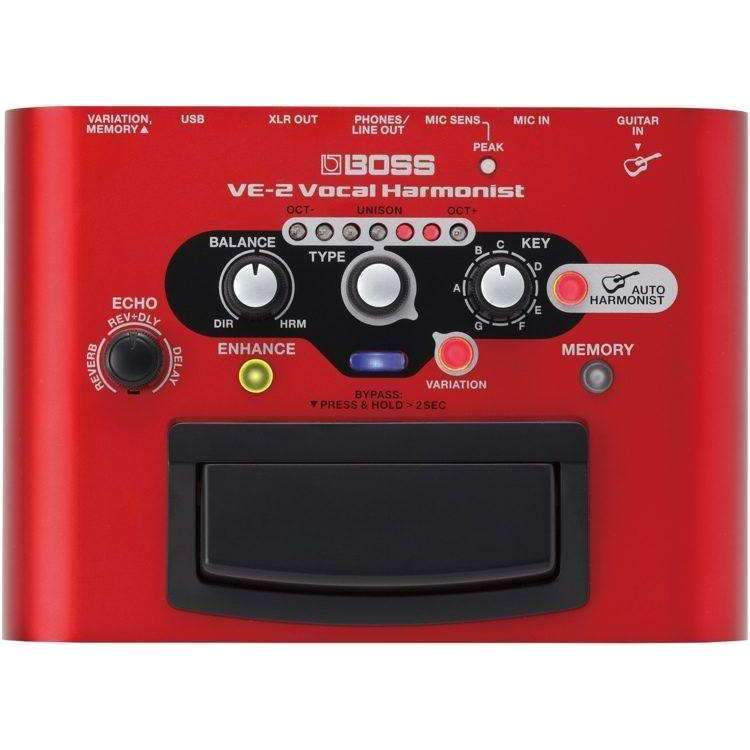 Boss VE-2 Portable Vocal Processor Harmony Pedals & Processors Boss