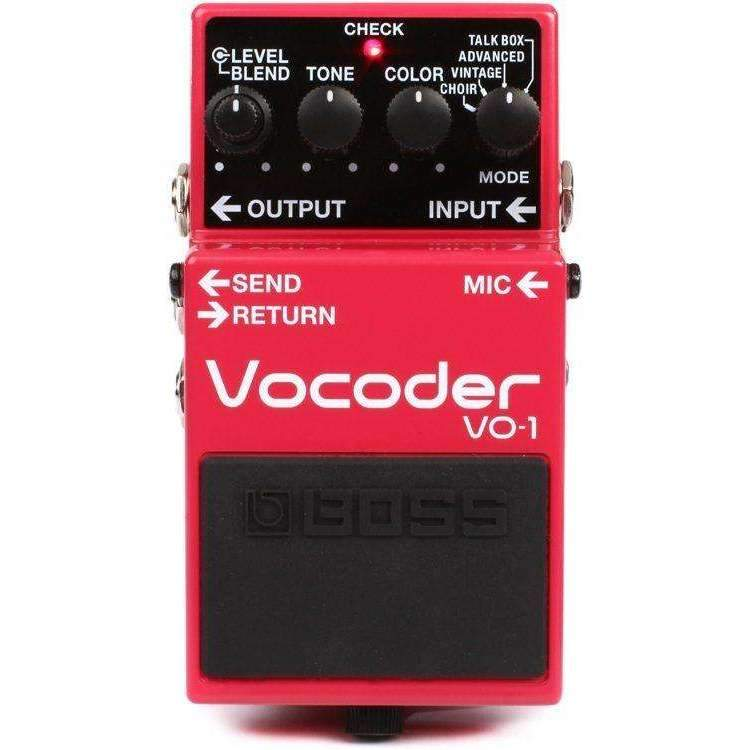 Boss VO-1 Vocoder Pedal Harmony Pedals & Processors Boss
