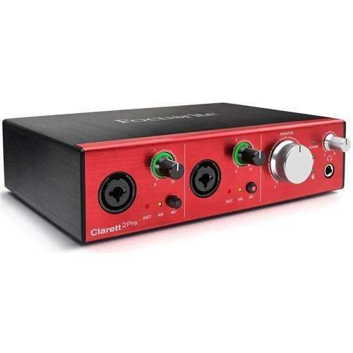 Focusrite Focusrite Clarett 2Pre USB 10x4 Audio Interface - Industrie Music