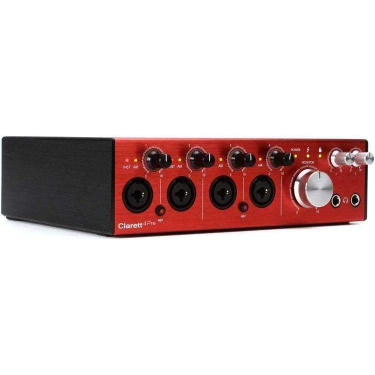 Focusrite Focusrite Clarett 4Pre USB 18x8 Audio Interface - Industrie Music