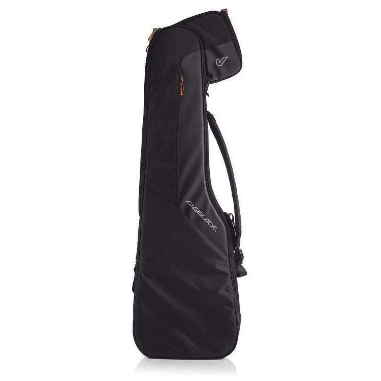 Gruv Gear Gruv Gear GigBlade 2 Side-Carry Hybrid Gig Bag for Electric Bass Black - Industrie Music