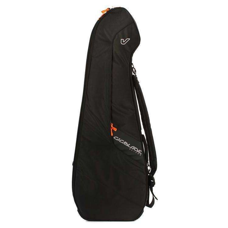 Gruv Gear Gruv Gear GigBlade Sliver Slimline Side-carry Electric Guitar Gig Bag Black - Industrie Music