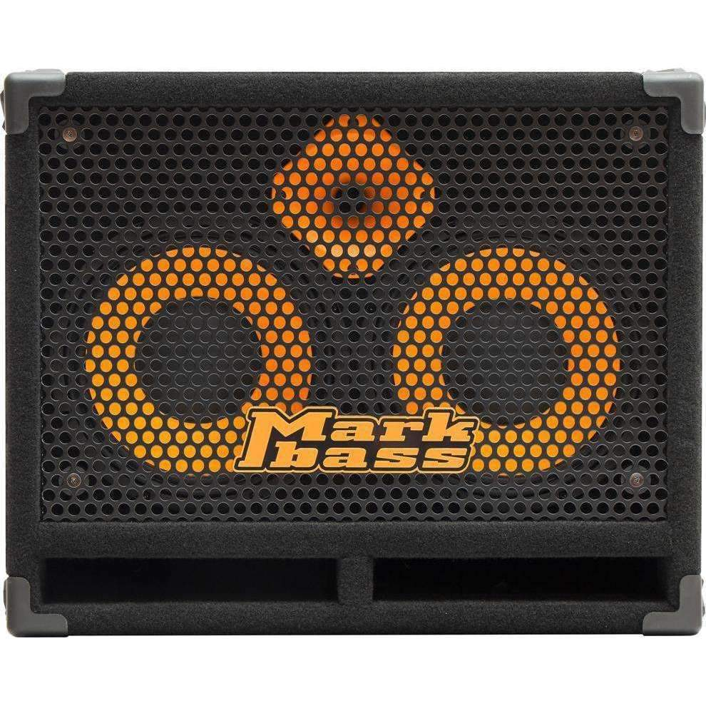 Industrie Music,Markbass Standard 102HF Front-Ported Neo 2x10 Bass Speaker Cabinet 8 ohms