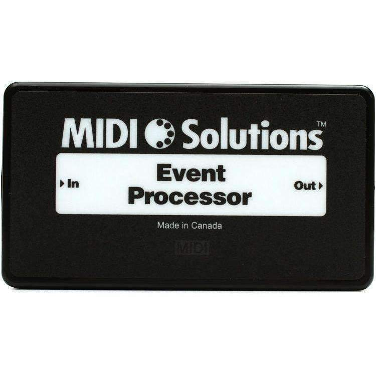 MIDI Solutions Event Processor MIDI Interfaces MIDI SOLUTIONS