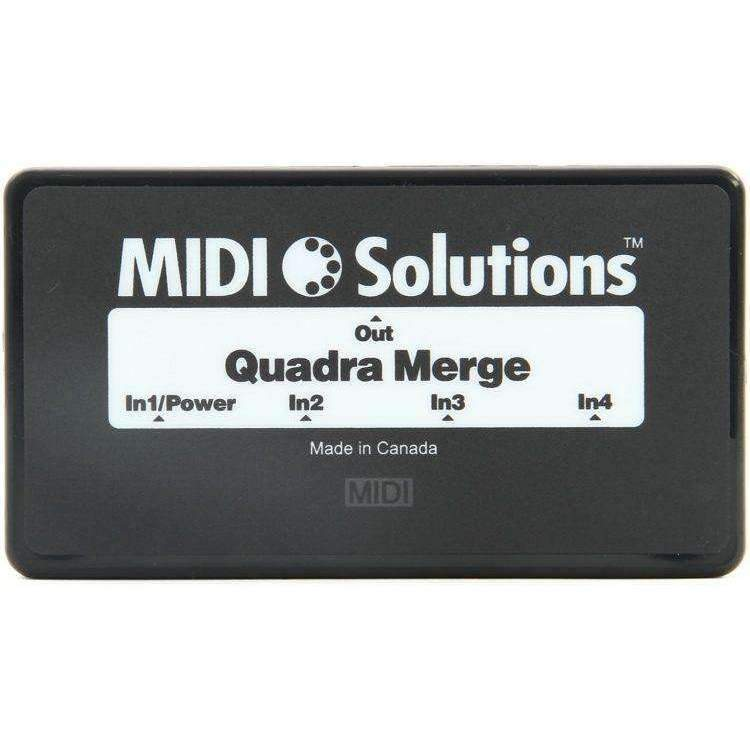 Industrie Music,MIDI Solutions Quadra Merge