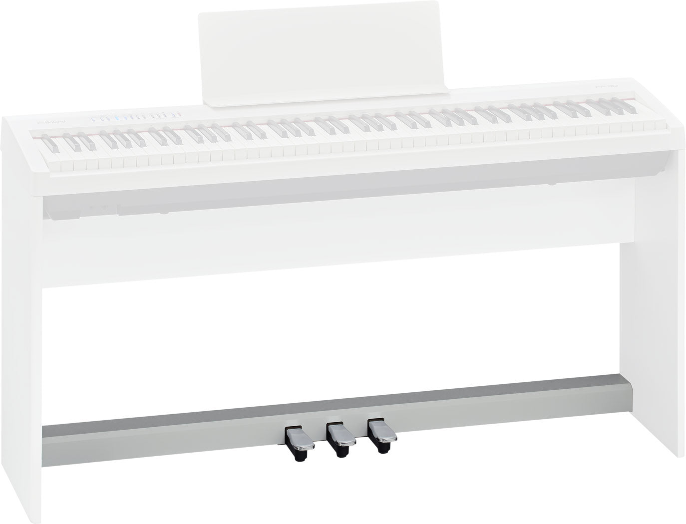 Roland KPD-70 Pedal Unit for FP-30 Digital Piano - White