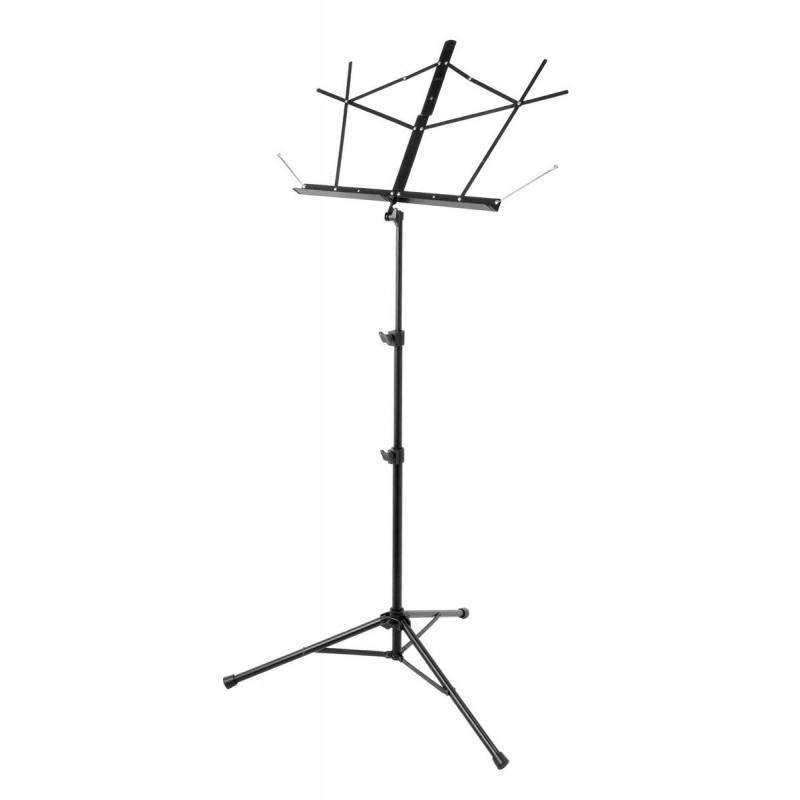Industrie Music,On Stage Tubular Tripod Base Sheet Music Stand (Black)