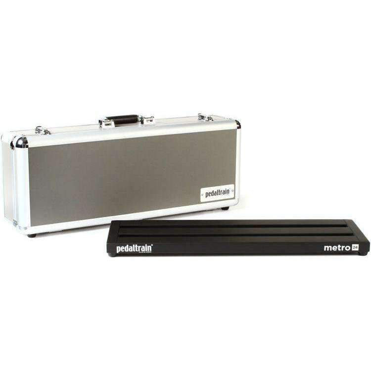 "Industrie Music,Pedaltrain Metro 24 HC 24""x8"" Pedalboard with Hard Case"