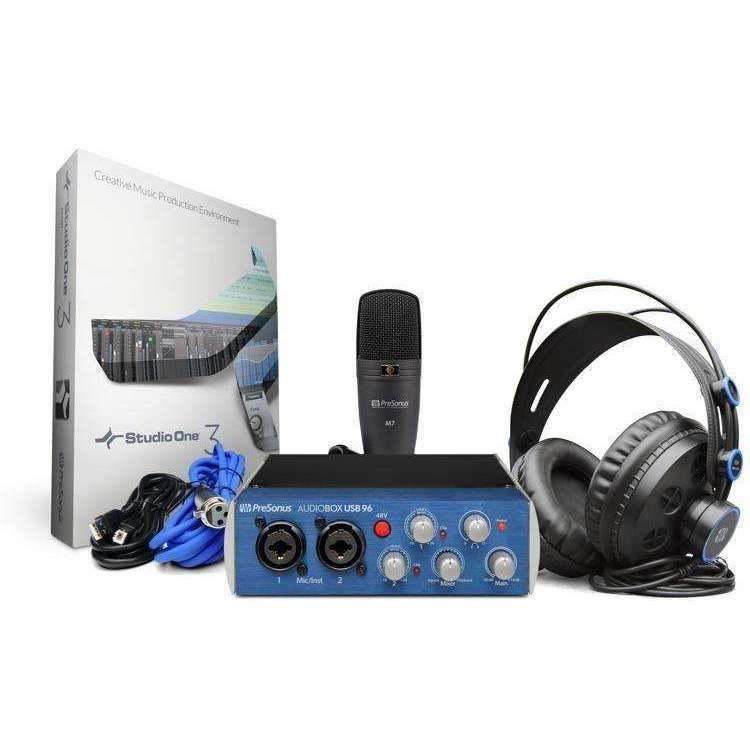 PreSonus AudioBox 96 Studio USB 2.0 Hardware/Software Recording Kit
