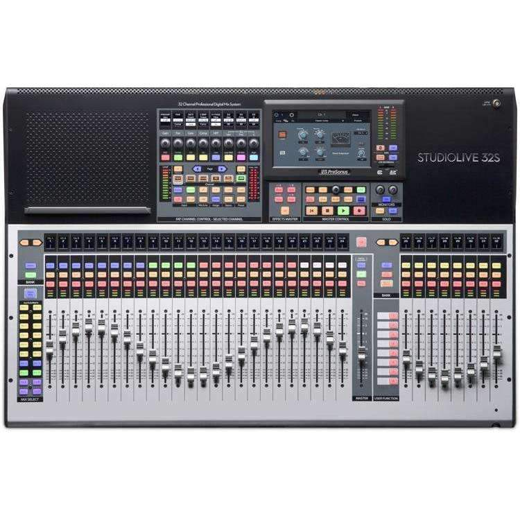 PreSonus StudioLive 32S 32-channel Digital Mixer Digital Mixers Presonus