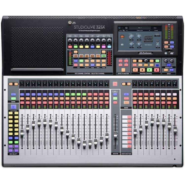 PreSonus StudioLive 32SX 32-channel Digital Mixer Digital Mixers Presonus