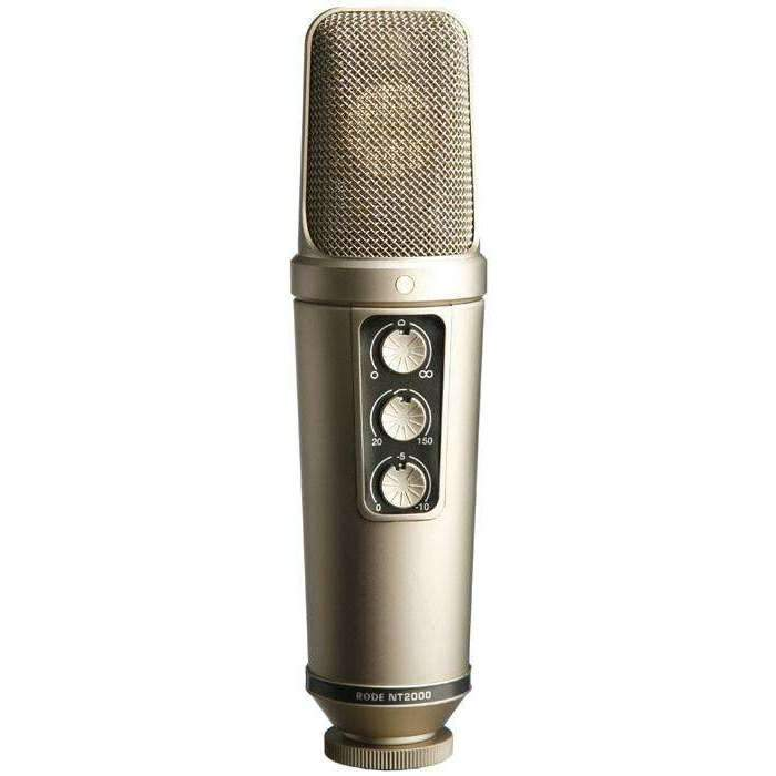 Rode NT2000 Large-diaphragm Condenser Microphone Condenser Microphones Rode