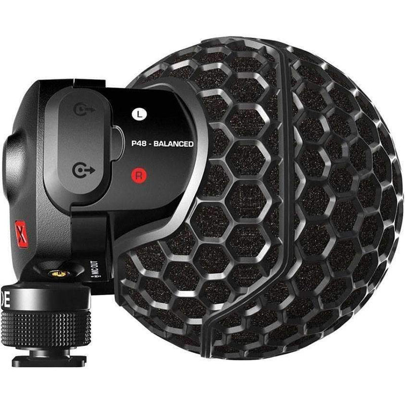 Rode Stereo VideoMic X On-Camera Microphone Camera Microphones Rode