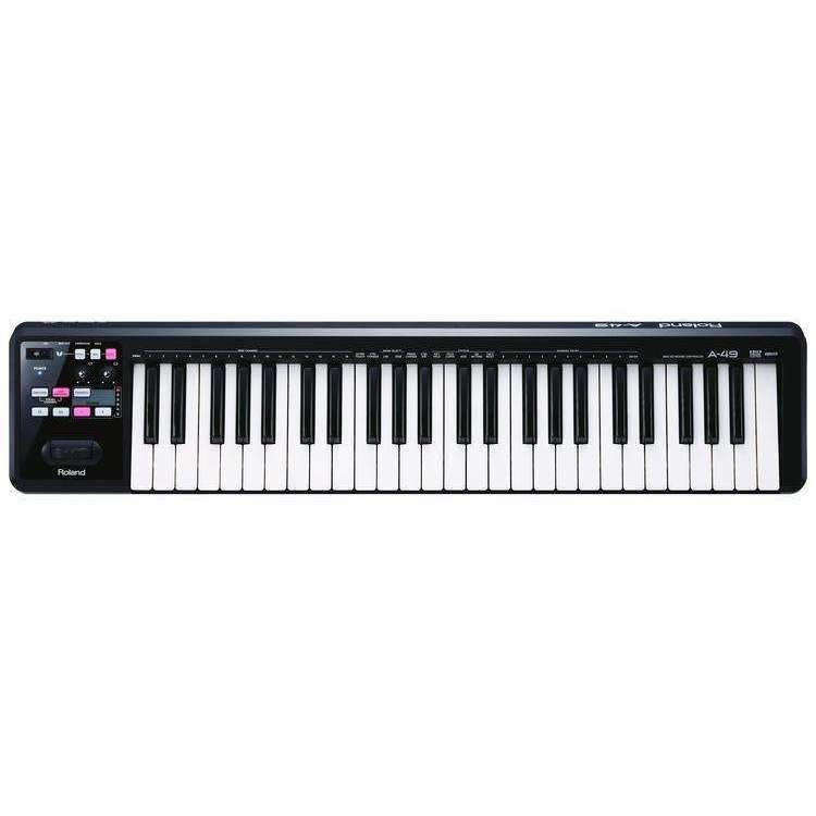 Roland Roland A-49 Keyboard Controller - Black - Industrie Music